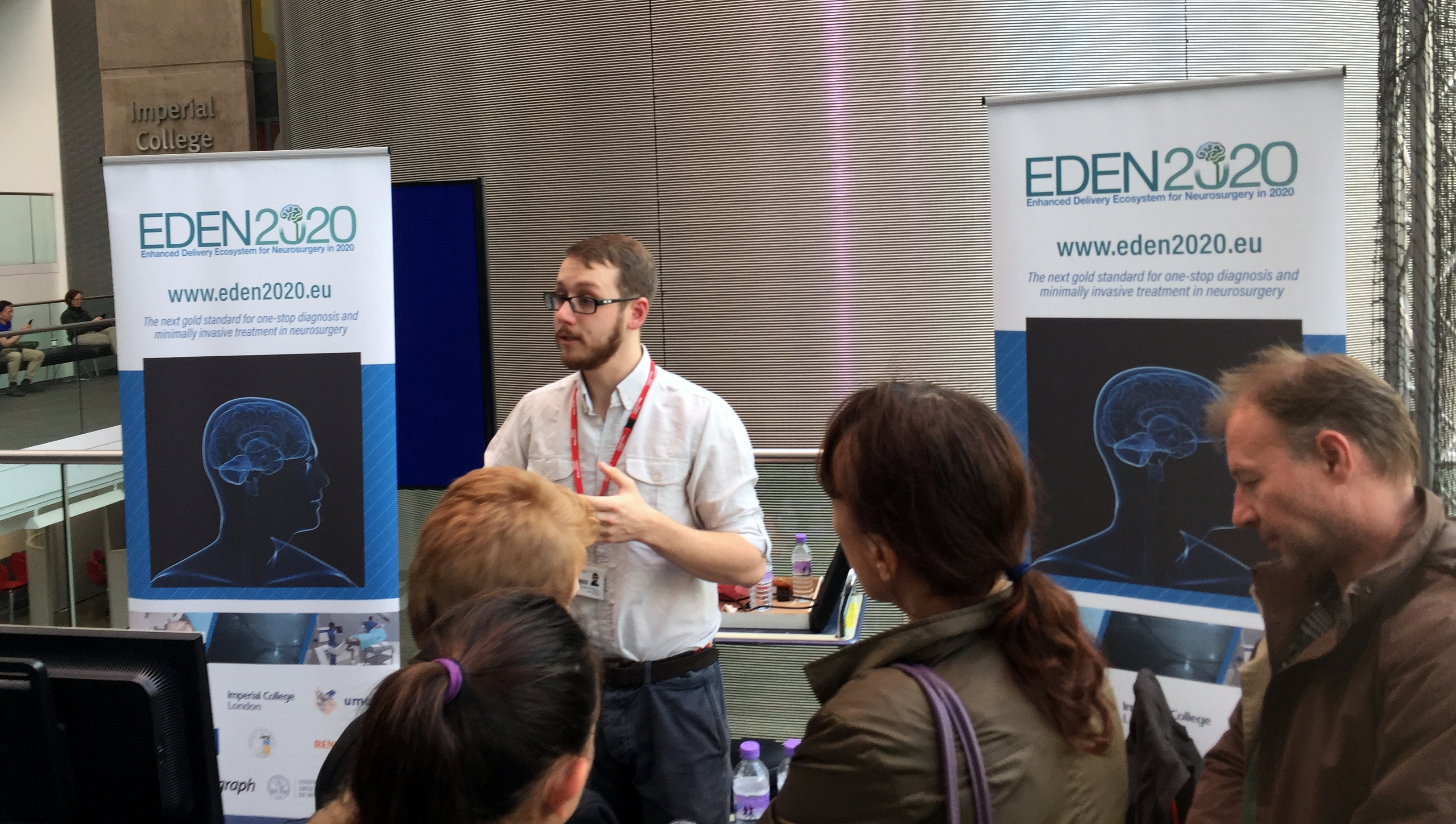 Will Blyth presenting at the festival