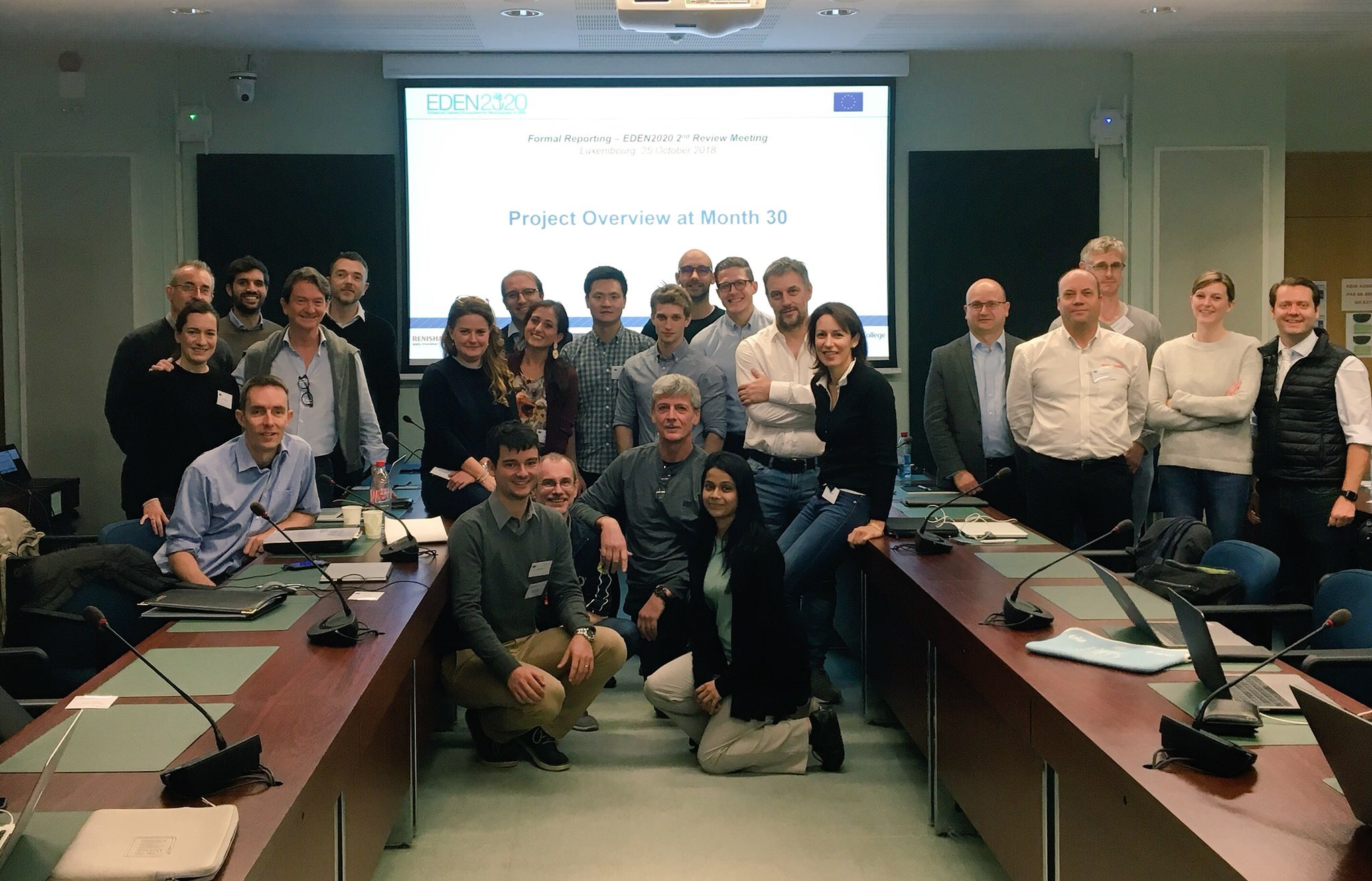 EDEN2020's Project and Review Meetings (M13-M30) in Luxembourg