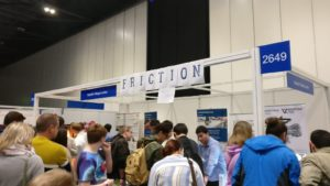Festival goers around the EDEN2020 pop-up science station at New Scientist Live 2019
